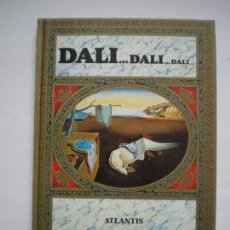 Libros de segunda mano: DALI DALI DALI ATLANTIS. Lote 79004597