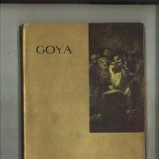 Libros de segunda mano: GOYA. LAS PINTURAS NEGRAS. ANTONIO F. FUSTER. Lote 80026025