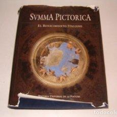 Libros de segunda mano: SUMMA PICTORICA. HISTORIA UNIVERSAL DE LA PINTURA. TOMO IV: EL RENACIMIENTO ITALIANO. RM79488. . Lote 80303953