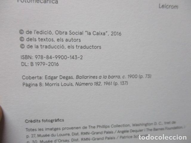 Libros de segunda mano: IMPRESSIONISTES I MODERNS. OBRES MESTRES DE LA PHILLIPS COLLECTION - NUEVO - Foto 3 - 80408053