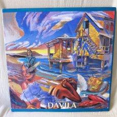 Libros de segunda mano: FERNANDO DAVILA - ESPECTACULAR LIBRO GRAN FORMATO DEL PINTOR - 2001 - AUTOGRAFO - UNICO. Lote 80878135