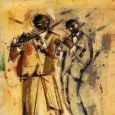 Libros de segunda mano: 65 AÑOS DE JAZZ, POR RAMÓN AGUILAR MORÉ. ED. CARENA, 2011. PINTURA. ARTE. Lote 81174944