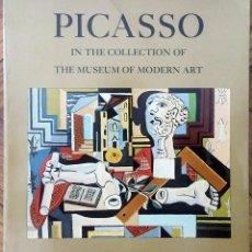 Libros de segunda mano: PICASSO IN THE COLLECTION OF THE MUSEUM OF MODERN ART - WILLIAM RUBIN. Lote 81652484