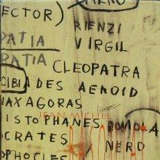 Libros de segunda mano: JEAN MICHEL-BASQUIAT - CATÁLOGO (1996) - JUAN ANTONIO JIMENEZ - ISBN: 9788486944452. Lote 81667988