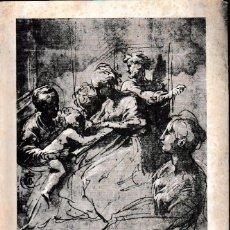 Libros de segunda mano: CATÁLOGO DE LOS DIBUJOS. REAL ACADEMIA DE SAN FERNANDO (1967) SIN USAR. Lote 81713508