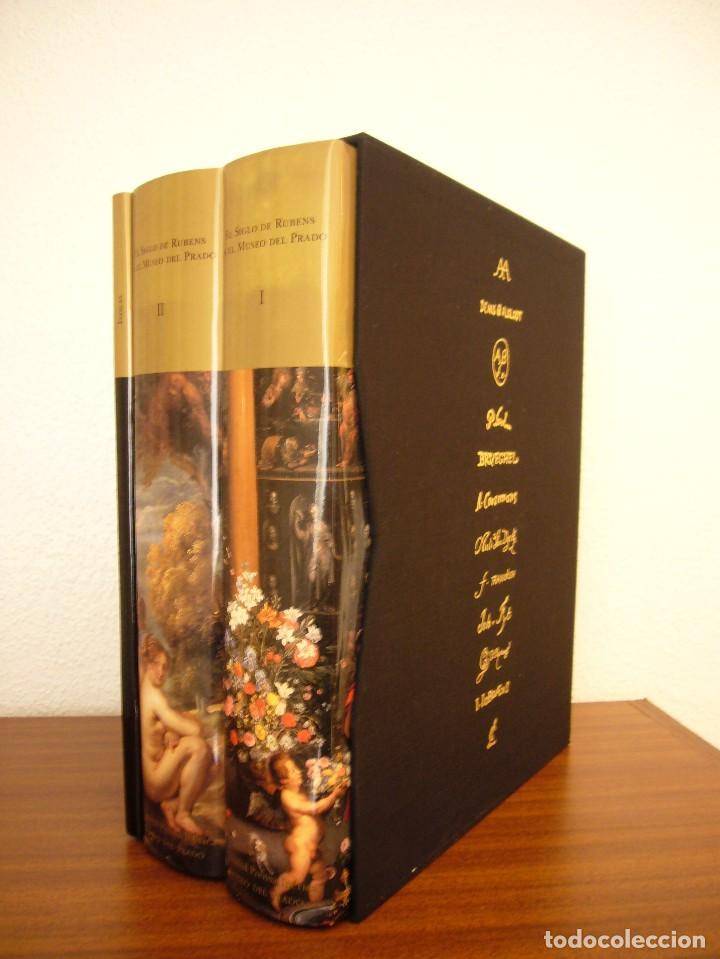 EL SIGLO DE RUBENS EN EL MUSEO DEL PRADO. CATÁLOGO RAZONADO DE PINTURA FLAMENCA S. XVII (1995) (Libros de Segunda Mano - Bellas artes, ocio y coleccionismo - Pintura)