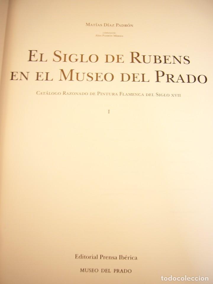 Libros de segunda mano: EL SIGLO DE RUBENS EN EL MUSEO DEL PRADO. CATÁLOGO RAZONADO DE PINTURA FLAMENCA S. XVII (1995) - Foto 6 - 81883668