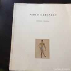 Libros de segunda mano: PABLO GARGALLO. Lote 82475655