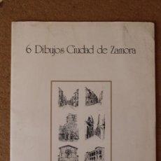 Libros de segunda mano: 6 DIBUJOS CIUDAD DE ZAMORA. EDITA: CAJA DE AHORROS PROVINCIAL DE ZAMORA. . Lote 82638496