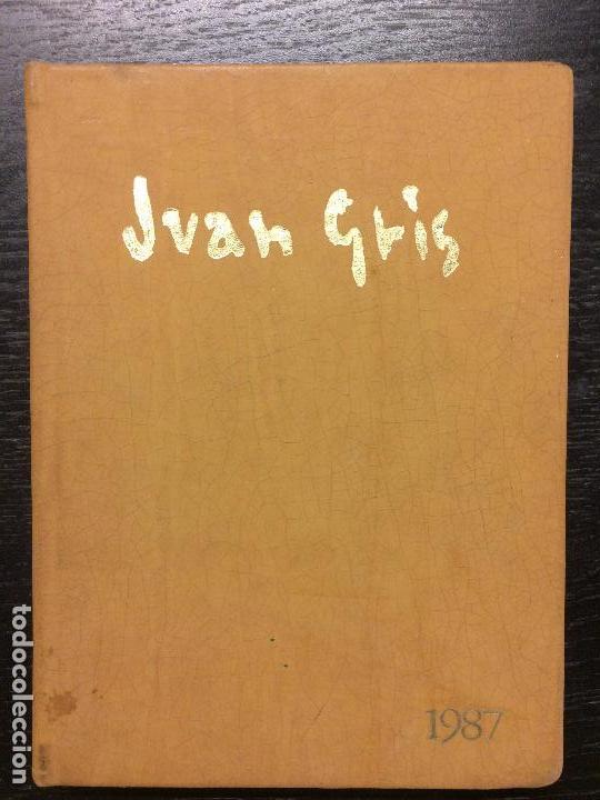 AGENDA 1987 JUAN GRIS (Libros de Segunda Mano - Bellas artes, ocio y coleccionismo - Pintura)