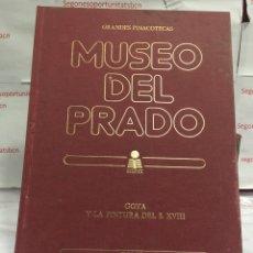 Libros de segunda mano: GRANDES PINACOTECAS EL MUSEO DEL PRADO. Lote 83932332