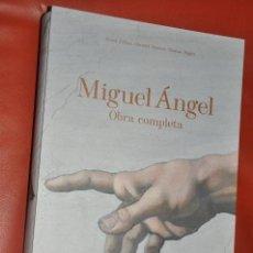 Libros de segunda mano: MIGUEL ANGEL OBRA COMPLETA DE TASCHEN , FRANK ZÖLLNER , CHRISTOF , PÖPPER , CON ATRIL ,. Lote 84161652