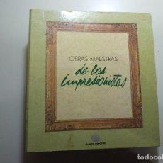 Libros de segunda mano: OBRAS MAESTRAS DE LOS IMPRESIONISTAS - PLANETA DEAGOSTINI. Lote 84163848