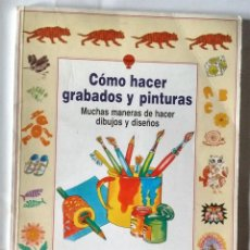 Libros de segunda mano: COMO HACER GRABADOS Y PINTURAS EDICIONES LAGOS 1990 NUEVO. Lote 84874832