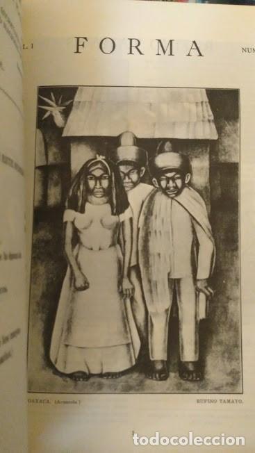 Libros de segunda mano: FORMA, REVISTA DE ARTES PLASTICAS, FACSIMIL, MEXICO. VANGUARDIAS - Foto 2 - 85746892