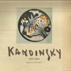 Libros de segunda mano: KANDINSKY 1923-1944. Lote 87346456
