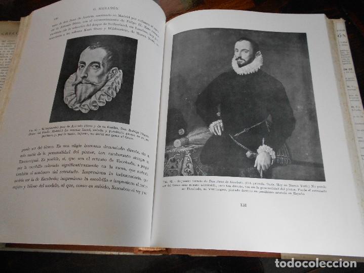 Libros de segunda mano: EL GRECO Y TOLEDO. GREGORIO MARAÑON. ESPASA-CALPE, MADRID 1956. TAPA DURA EN TELA CON SOBRECUBIERTA. - Foto 3 - 88097276