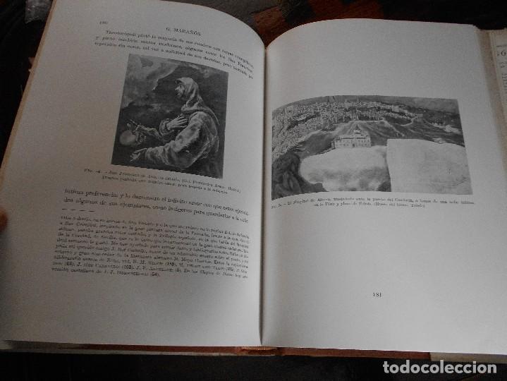Libros de segunda mano: EL GRECO Y TOLEDO. GREGORIO MARAÑON. ESPASA-CALPE, MADRID 1956. TAPA DURA EN TELA CON SOBRECUBIERTA. - Foto 4 - 88097276