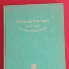 Libros de segunda mano: LOS TRAJES POPULARES DE ESPAÑA VISTO POR LOS PINTORES ESPAÑOLES OMEGA 1948. Lote 88156956