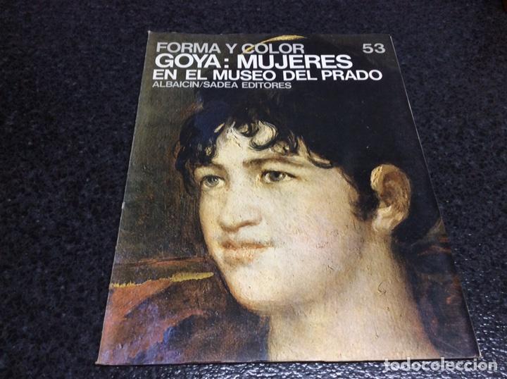 GOYA: MUJERES EN EL MUSEO DEL PRADO. FORMA Y COLOR 69. , LA MAYORIA DE PAGINAS SON LAMINAS (Libros de Segunda Mano - Bellas artes, ocio y coleccionismo - Pintura)