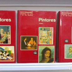 Libros de segunda mano: DICCIONARIO UNIVERSAL DE PINTORES 3 TOMOS. Lote 89349204