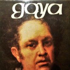 Libros de segunda mano: GOYA DE JOSÉ GUDIOL .MUY ILUSTRADO,GRAN FORMATO .EDITORIAL LABOR 2ª EDICIÓN 1974,168 PÁG.. Lote 89583664