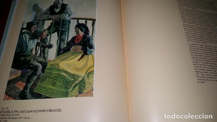 Libros de segunda mano: tipos y trajes de zamora salamanca y leon / acuarelas de la escuela madrileña de ceramica / VVAA - Foto 2 - 89653932