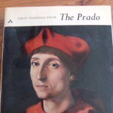 Libros de segunda mano: GREAT PAINTINGS FROM THE PRADO. Lote 89777408