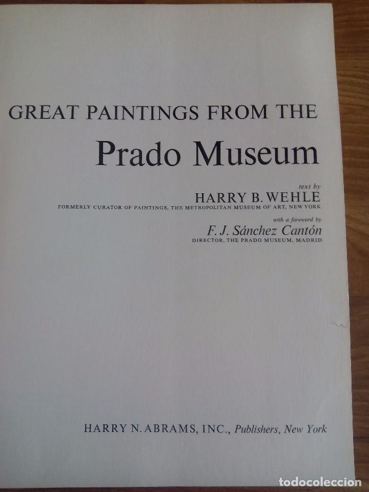 Libros de segunda mano: GREAT PAINTINGS FROM THE PRADO - Foto 2 - 89777408