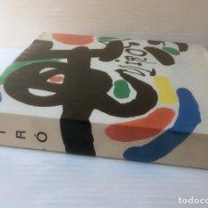 Libros de segunda mano: MIRÓ. EDICIONS POLÍGRAFA, 1970. SOBRECUBIERTA. MUY BUEN ESTADO. PAYPAL. Lote 89780500