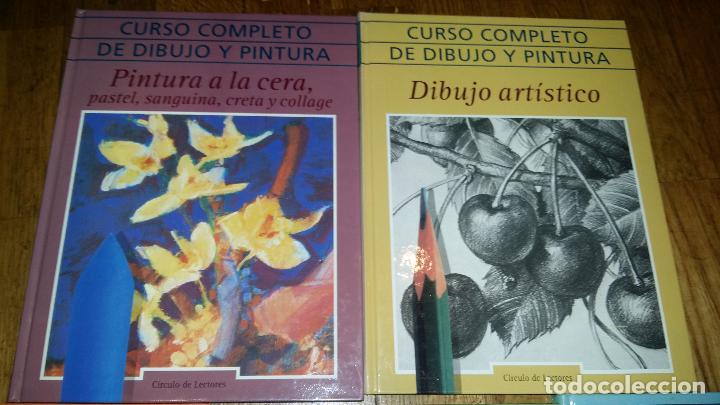 Libros de segunda mano: CURSO COMPLETO DE DIBUJO Y PINTURA EN 5 TOMOS / - Foto 2 - 90045908
