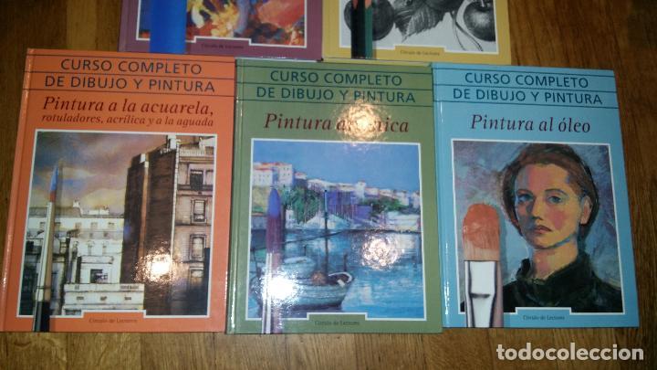 Libros de segunda mano: CURSO COMPLETO DE DIBUJO Y PINTURA EN 5 TOMOS / - Foto 3 - 90045908
