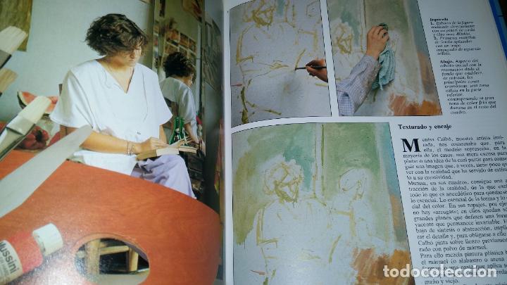 Libros de segunda mano: CURSO COMPLETO DE DIBUJO Y PINTURA EN 5 TOMOS / - Foto 7 - 90045908
