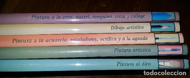 Libros de segunda mano: CURSO COMPLETO DE DIBUJO Y PINTURA EN 5 TOMOS / - Foto 8 - 90045908