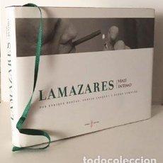 Libros de segunda mano: LAMAZARES. VIAJE ÍNTIMO. (TIRADA NUMERADA) (ARTE DE LOS 80. GALICIA. FOTOS . Lote 90069056