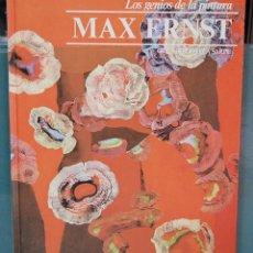 Libros de segunda mano: MAX ERNST. LOS GENIOS DE LA PINTURA. SARPE. Lote 90312592