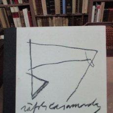 Libros de segunda mano: ROJO RUPESTRE APROXIMACIÓN A LOS DIBUJOS DE RÀFOLS-CASAMADA. SEVERO SARDUY. 1989.. Lote 90447634