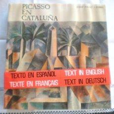 Libros de segunda mano: PICASSO EN CATALUÑA - PRIMERA EDICIÓN 1966 - EN EMBALAJE ORIGINAL, SIN USAR. Lote 90469994