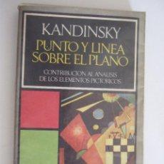 Libros de segunda mano: PUNTO Y LINEA SOBRE EL PLANO - KANDINSKY - BARRAL EDITORES - 1974 RUSTICA - 211 PAGINAS. Lote 90898370