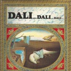 Libros de segunda mano: DALI...DALI...DALI TEXTOS DE MAX GERALD. Lote 91376090