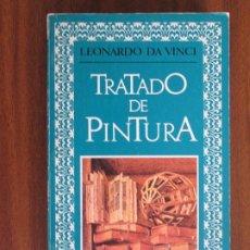 Libros de segunda mano: TRATADO DE LA PINTURA --- LEONARDO DA VINCI. Lote 92062735