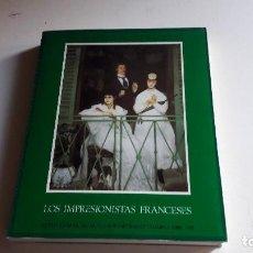 Libros de segunda mano: ARTE..PINTURA.. LOS IMPRESIONISTAS FRANCESES....1971... Lote 92090075