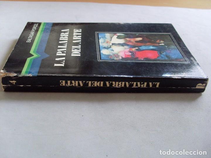 Libros de segunda mano: LA PALABRA DEL ARTE / Baltasar Porcel / 1976 - Foto 2 - 92175205
