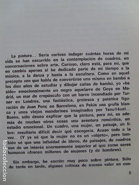 Libros de segunda mano: LA PALABRA DEL ARTE / Baltasar Porcel / 1976 - Foto 4 - 92175205