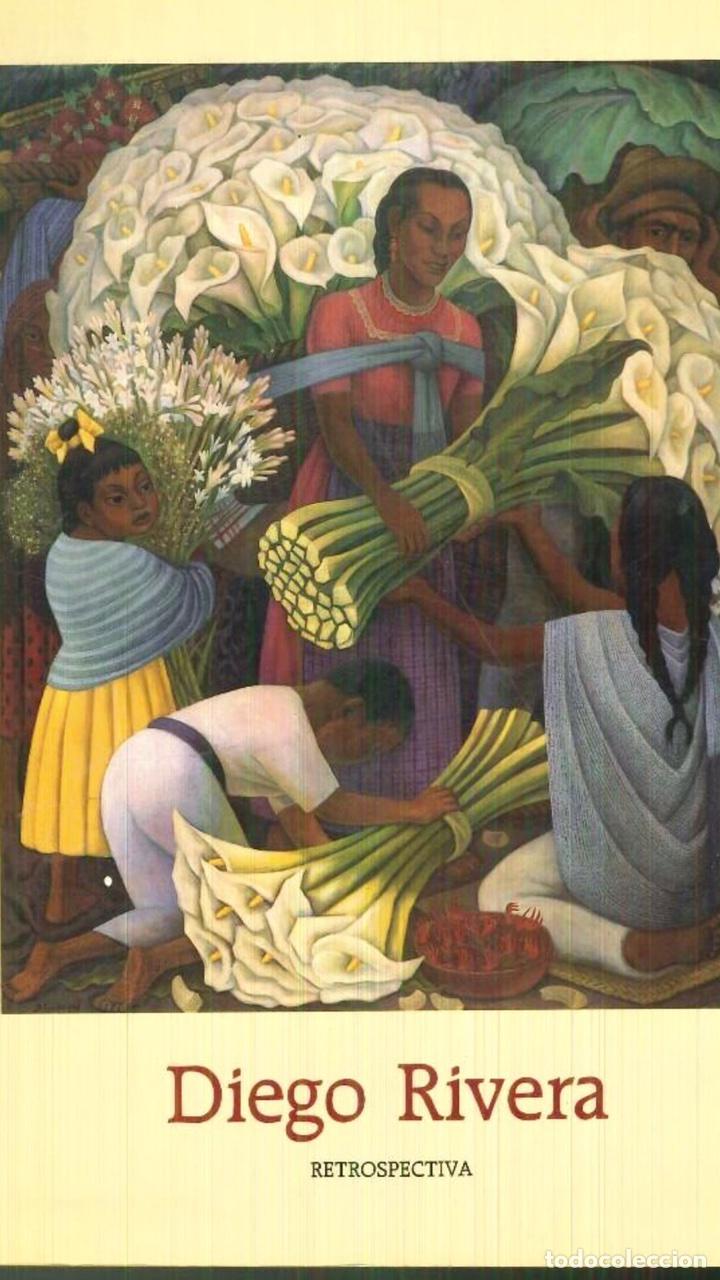 DIEGO RIVERA RETROSPECTIVA (Libros de Segunda Mano - Bellas artes, ocio y coleccionismo - Pintura)