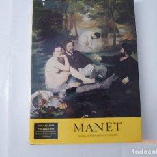 Libros de segunda mano: LIBRO PINTURAS, MANET, MUNICH.,. Lote 93657105