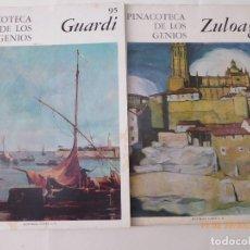 Libros de segunda mano: 2 OBRAS ZULOAGA, YGUARDI, Nº 145, Y 95, . Lote 93657360