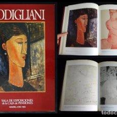 Libros de segunda mano - MODIGLIANI. CATÁLOGO DE LA SALA DE EXPOSICIONES DE LA CAJA DE PENSIONES. MADRID, JUNIO 1983 - 93692050