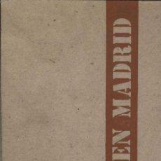 Libros de segunda mano: ARTISTAS EN MADRID. Lote 94125970