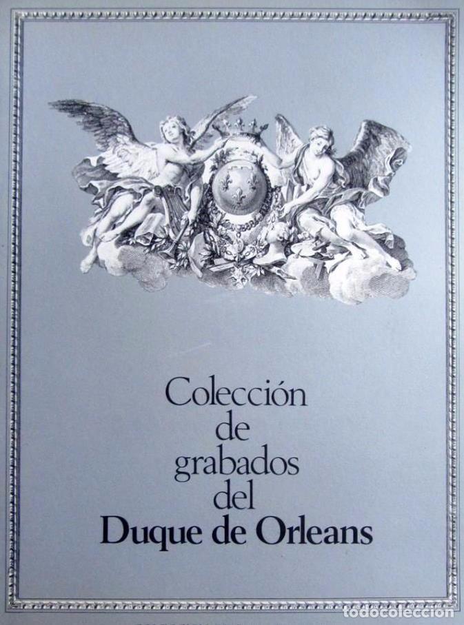 COLECCIÓN DE GRABADOS DEL DUQUE DE ORLEANS. COLECCIÓN ERISA ILUSTRATIVA, 1983 (Libros de Segunda Mano - Bellas artes, ocio y coleccionismo - Pintura)